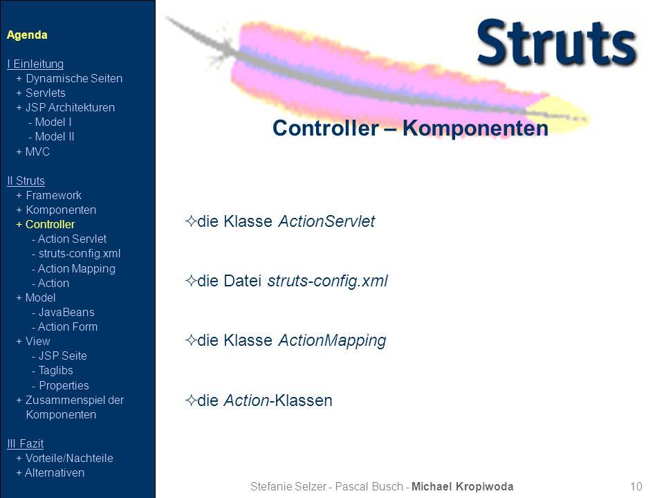 Controller – Komponenten