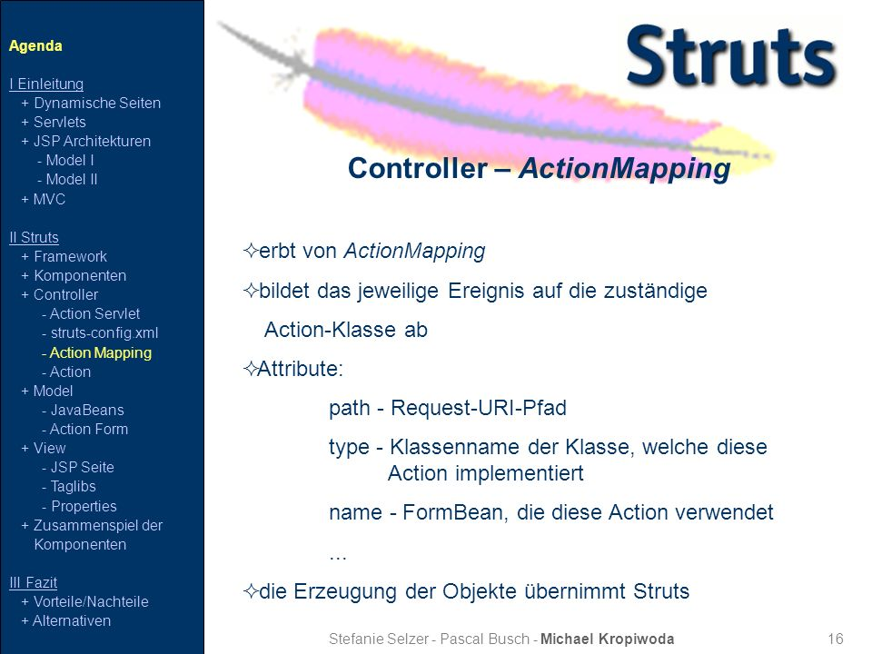 Controller – ActionMapping