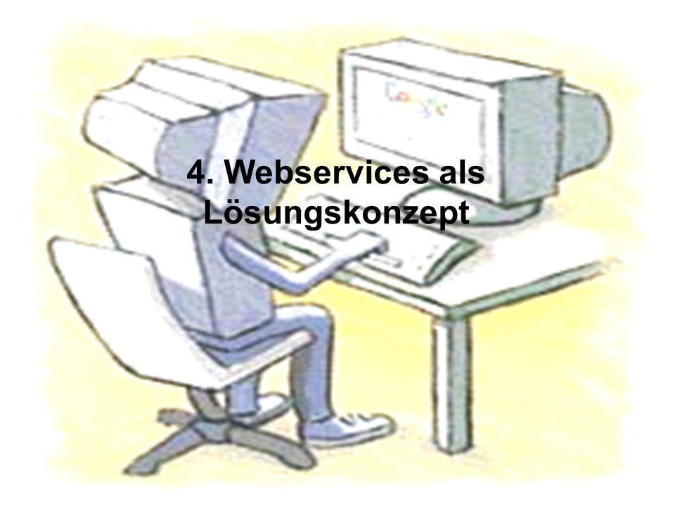 4. Webservices als Lösungskonzept