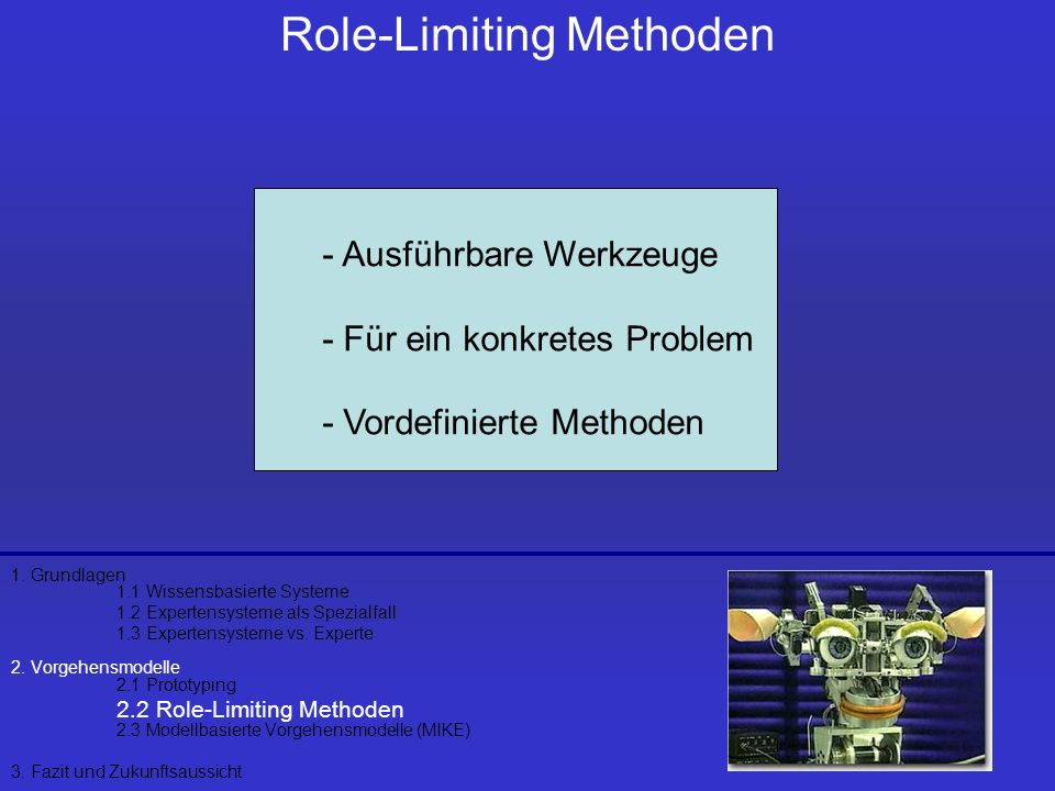 Role-Limiting Methoden