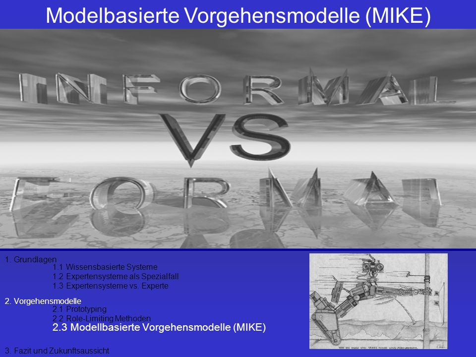 Modelbasierte Vorgehensmodelle (MIKE)