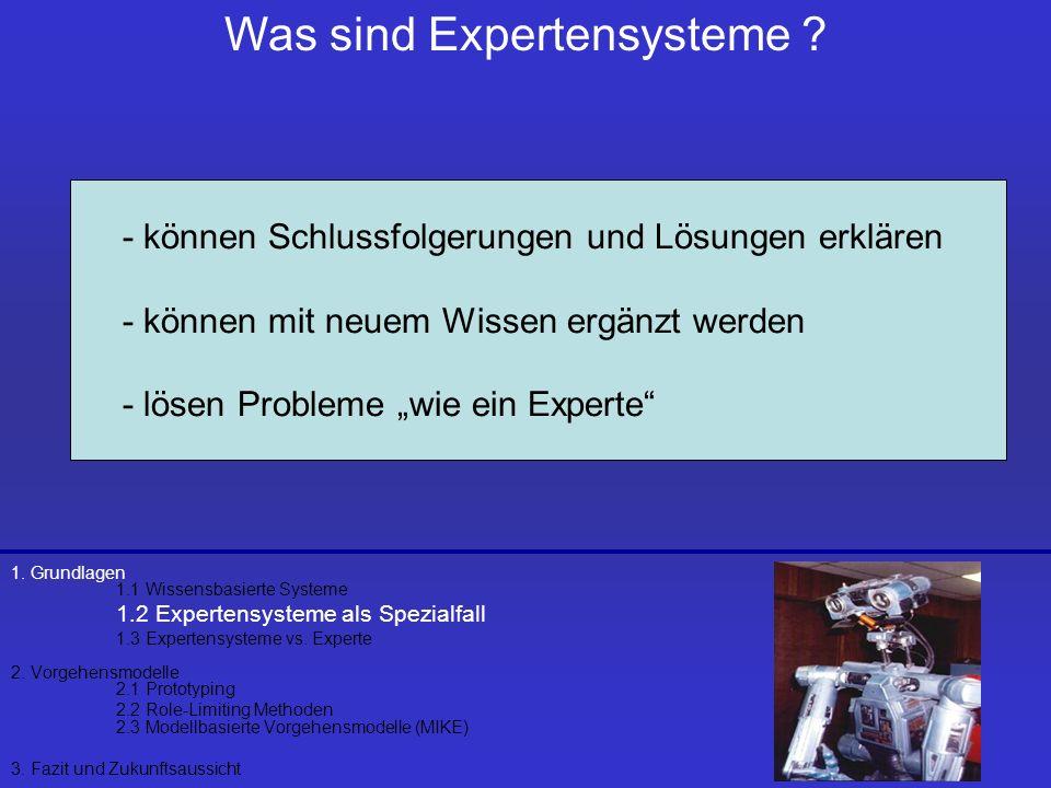 Was sind Expertensysteme