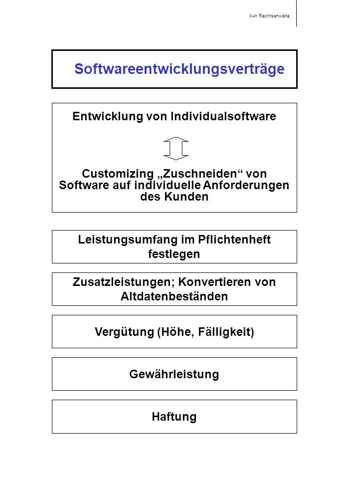 Softwareentwicklungsverträge