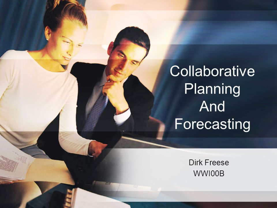 Collaborative Planning And Forecasting