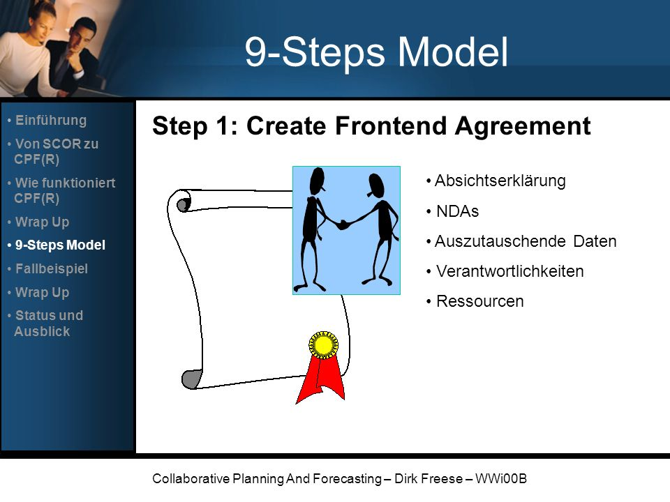 Collaborative Planning And Forecasting – Dirk Freese – WWi00B