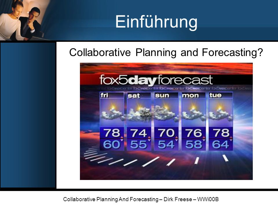 Einführung Collaborative Planning and Forecasting
