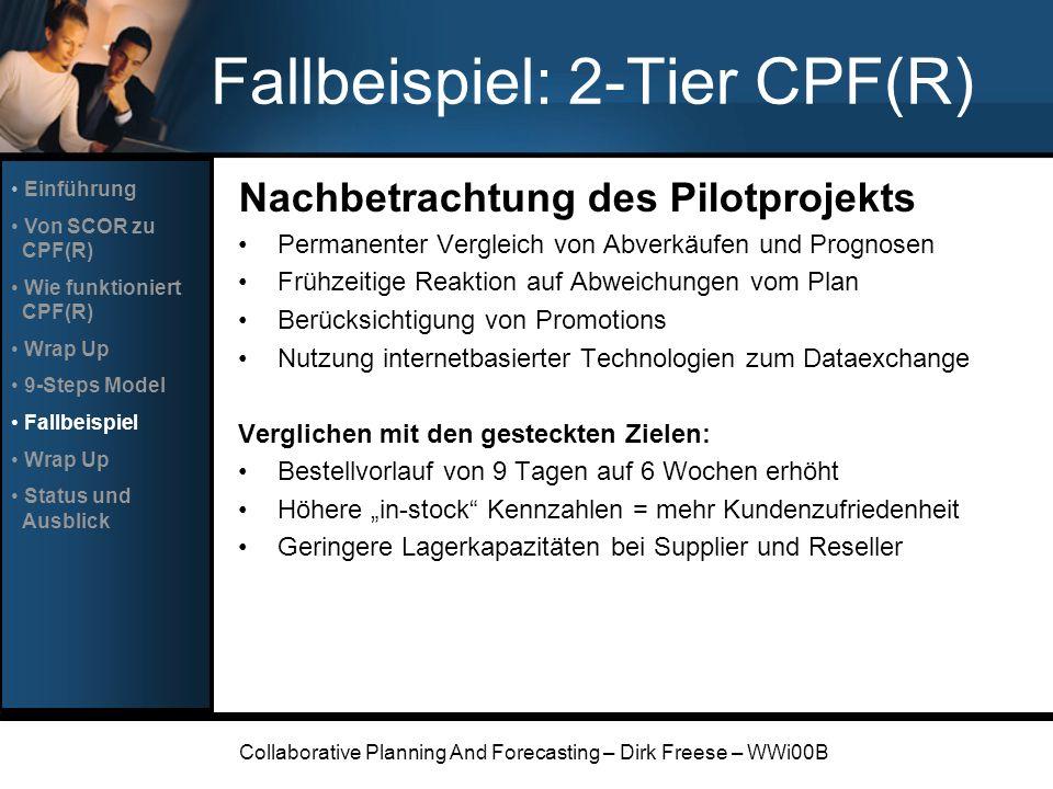 Fallbeispiel: 2-Tier CPF(R)
