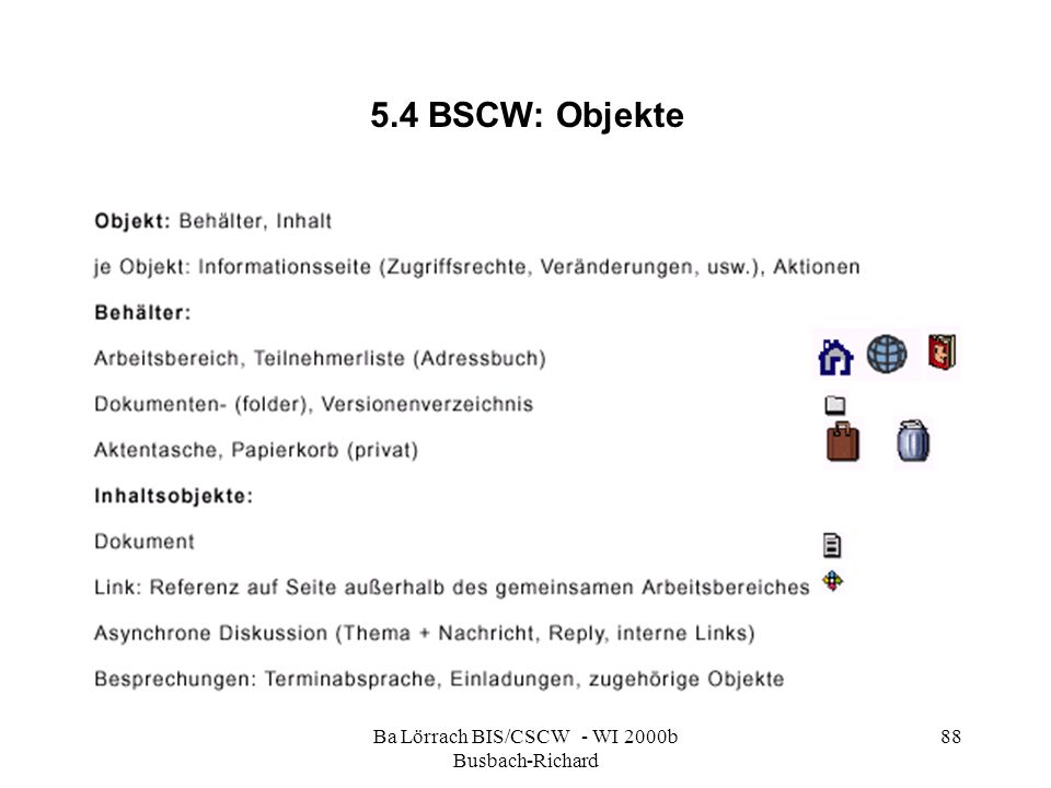 Ba Lörrach BIS/CSCW - WI 2000b Busbach-Richard