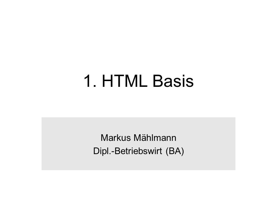 Markus Mählmann Dipl.-Betriebswirt (BA)