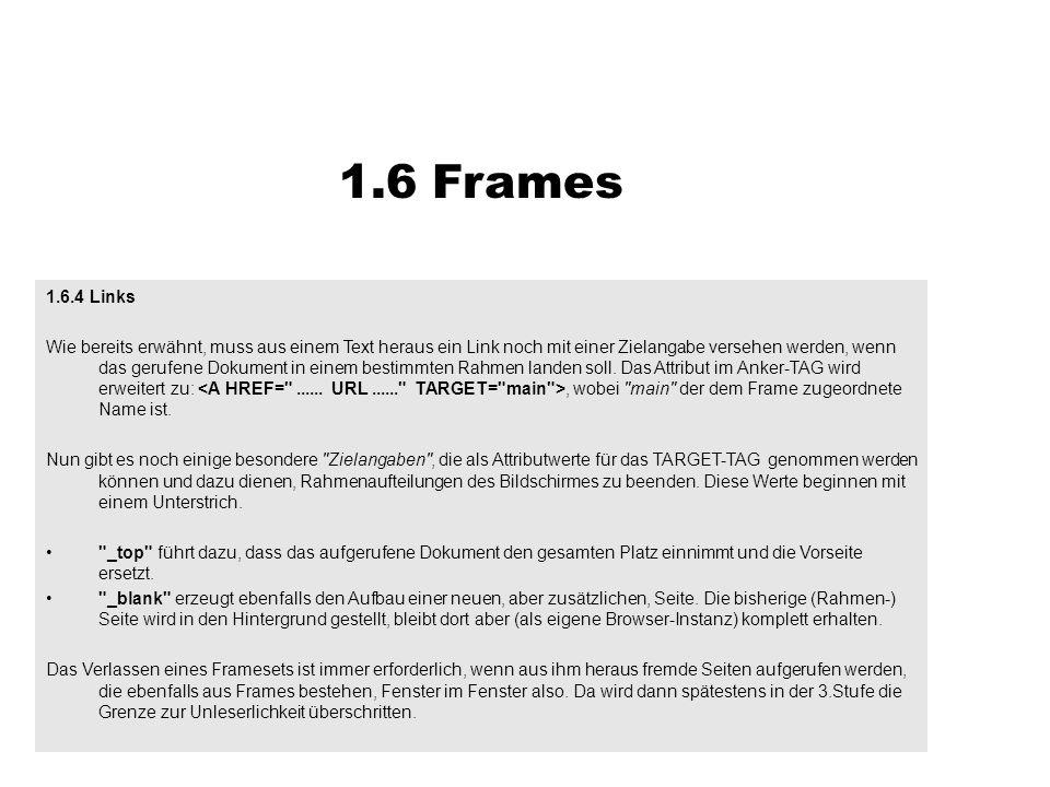 1.6 Frames1.6.4 Links.