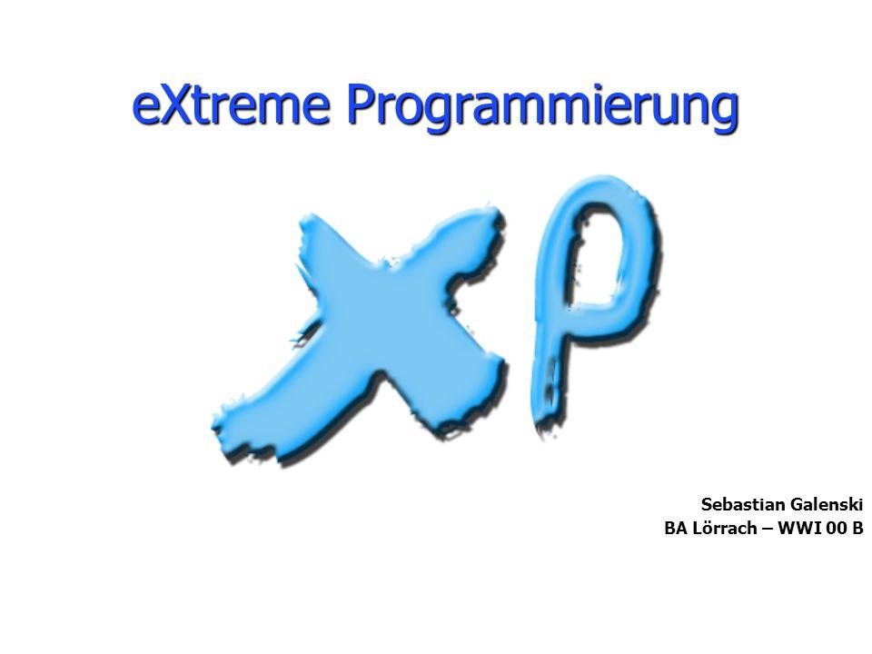 eXtreme Programmierung