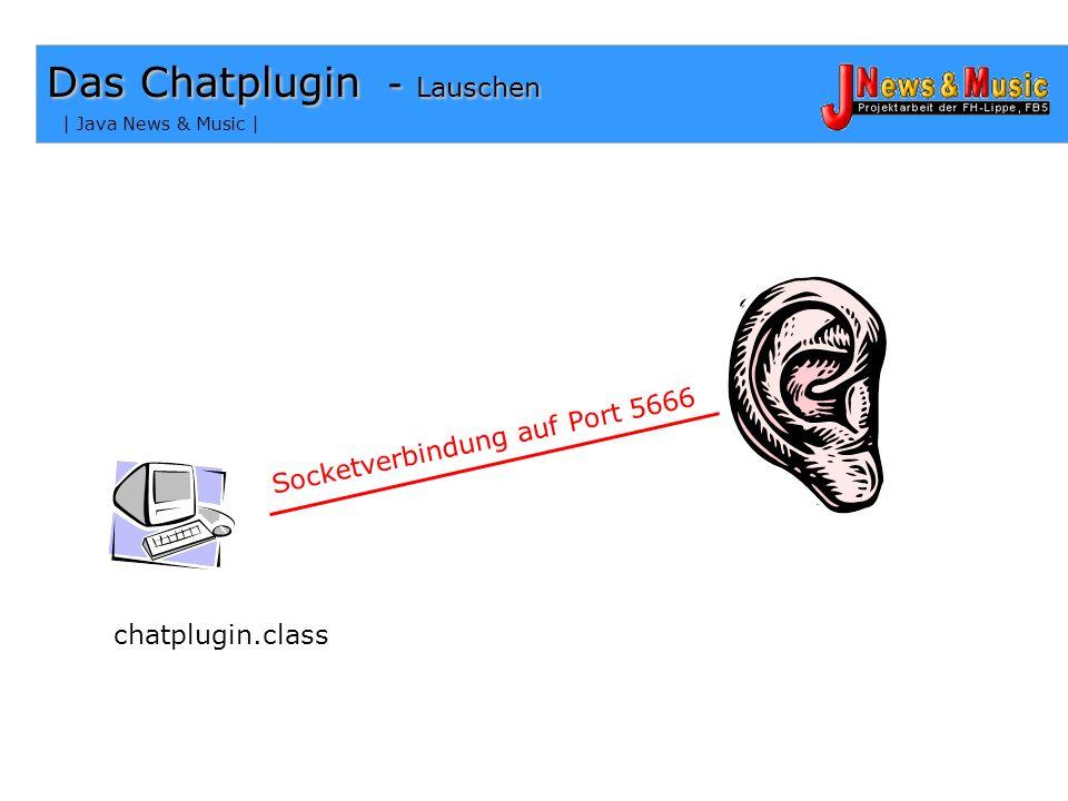 Das Chatplugin - Lauschen