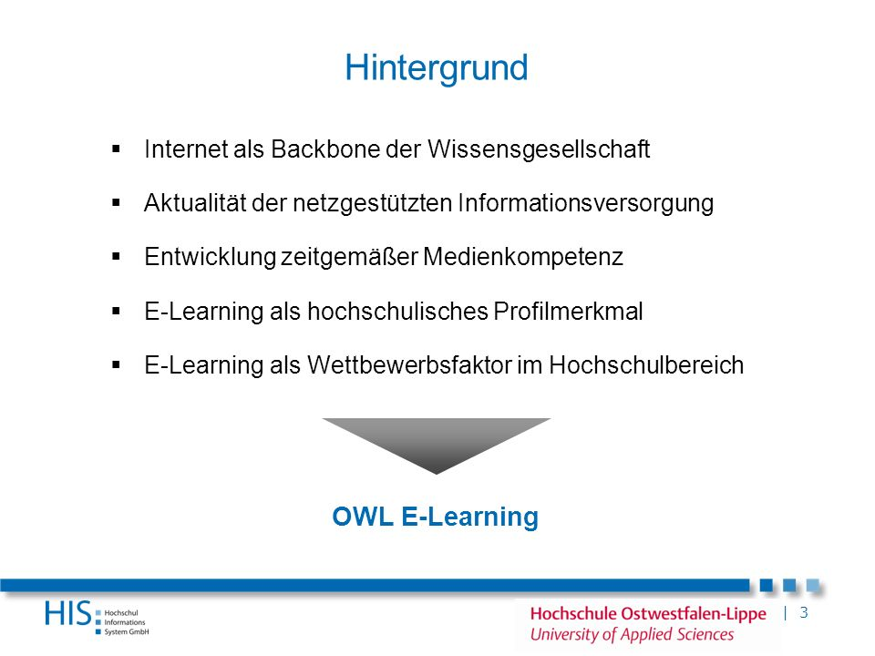 Hintergrund OWL E-Learning