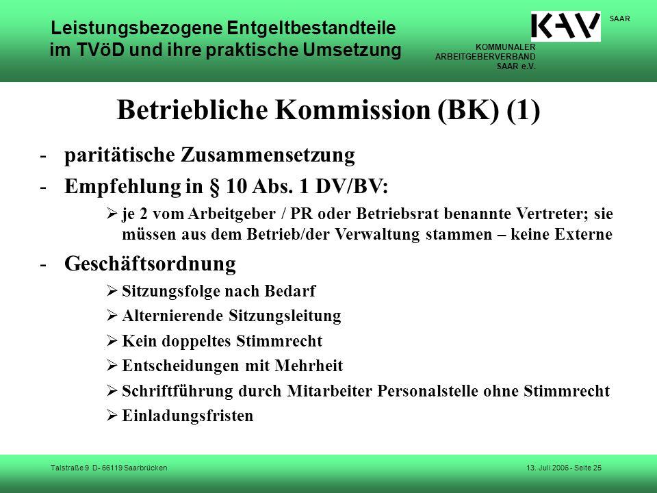 Betriebliche Kommission (BK) (1)