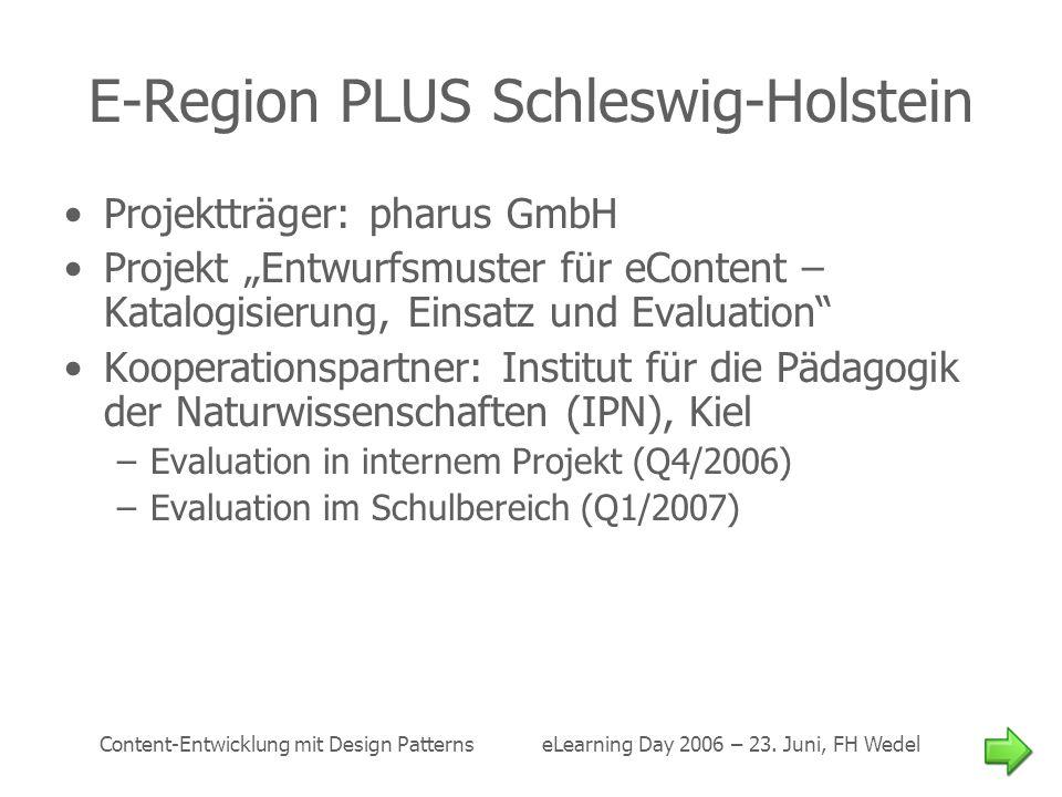 E-Region PLUS Schleswig-Holstein