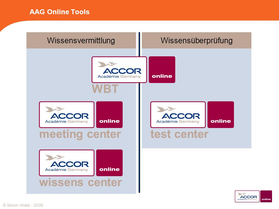 WBT meeting center test center wissens center Wissensvermittlung