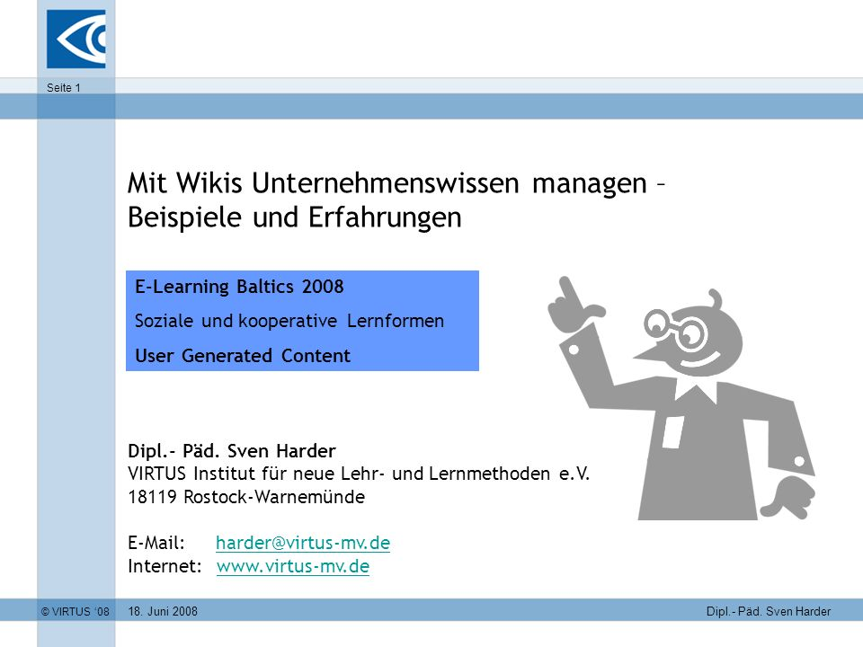 Mit Wikis Unternehmenswissen managen – Beispiele und Erfahrungen