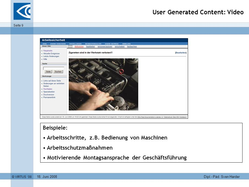 User Generated Content: Video