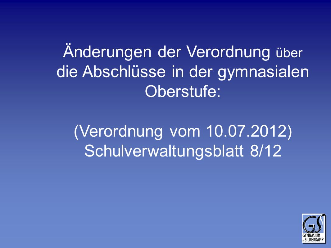 Schulverwaltungsblatt 8/12