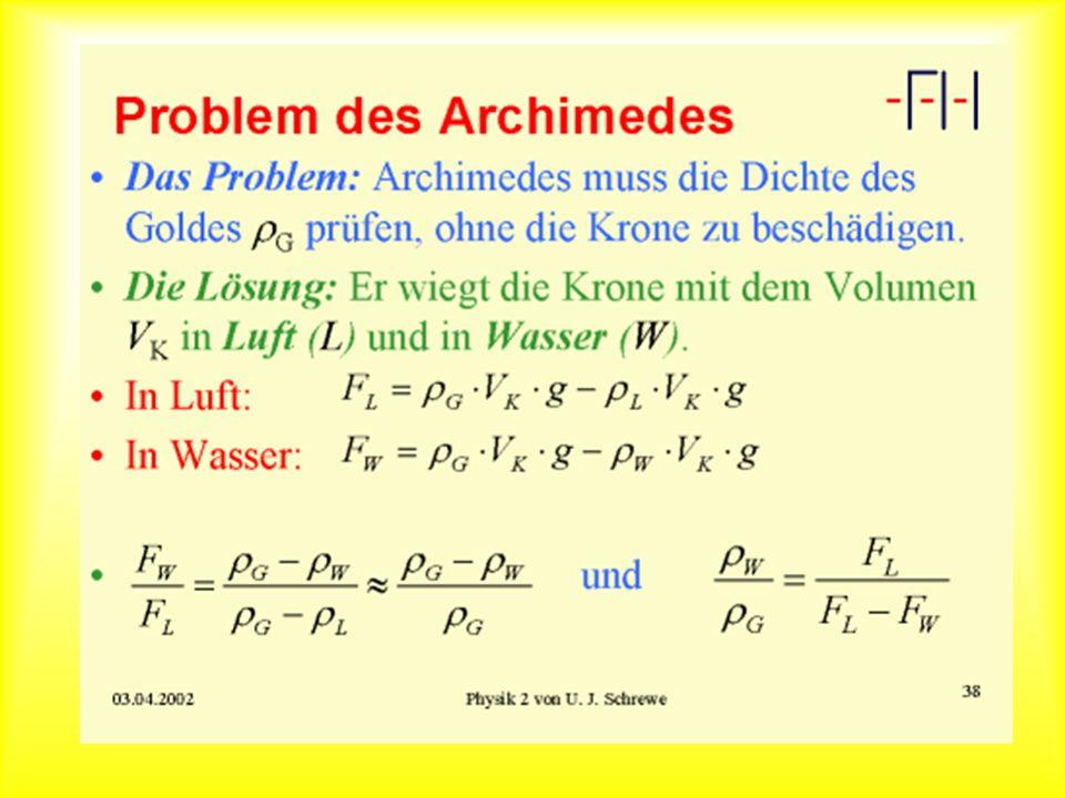 Problem des Archimedes