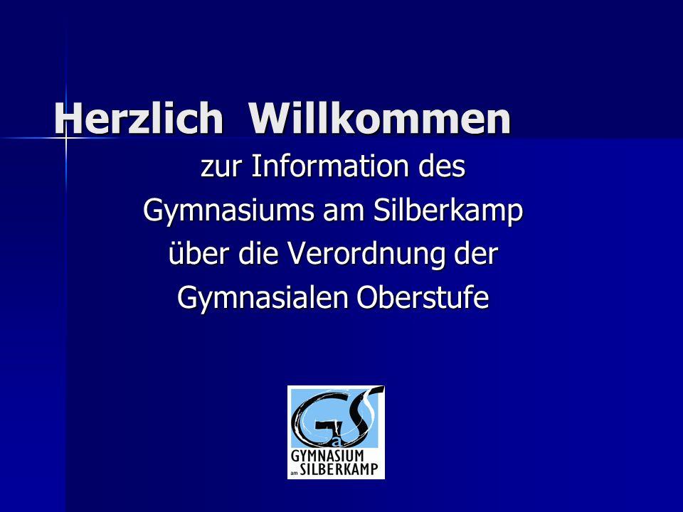 Herzlich Willkommen zur Information des Gymnasiums am Silberkamp