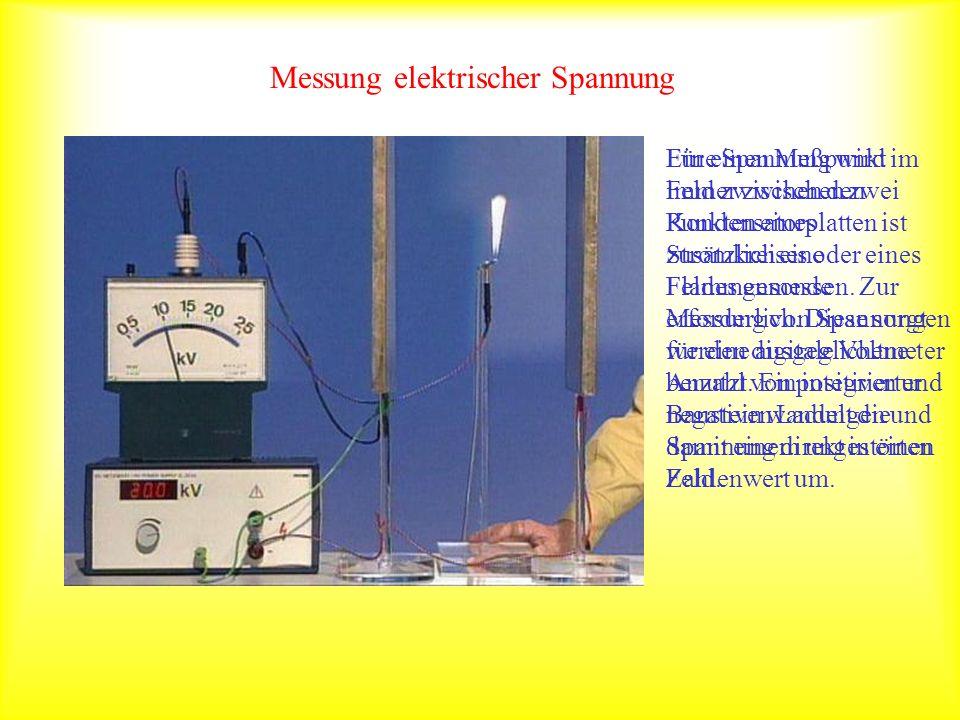 Messung elektrischer Spannung