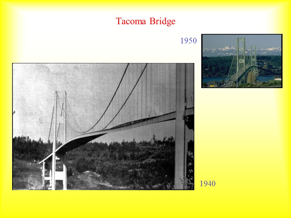 Tacoma Bridge 1950 1940
