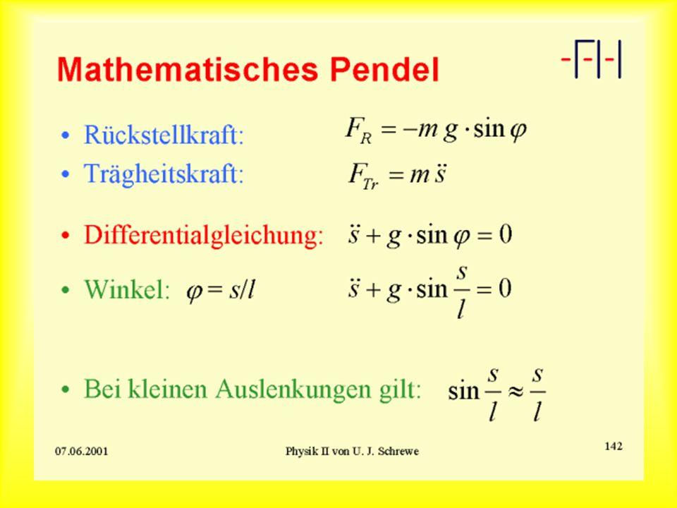 Mathematisches Pendel