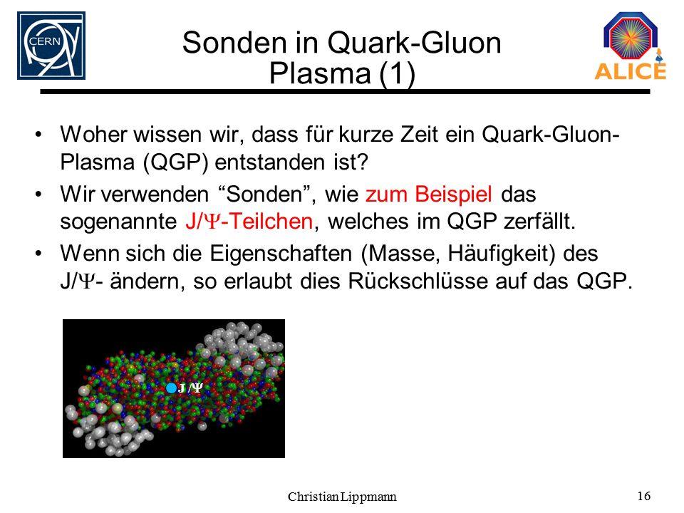 Sonden in Quark-Gluon Plasma (1)