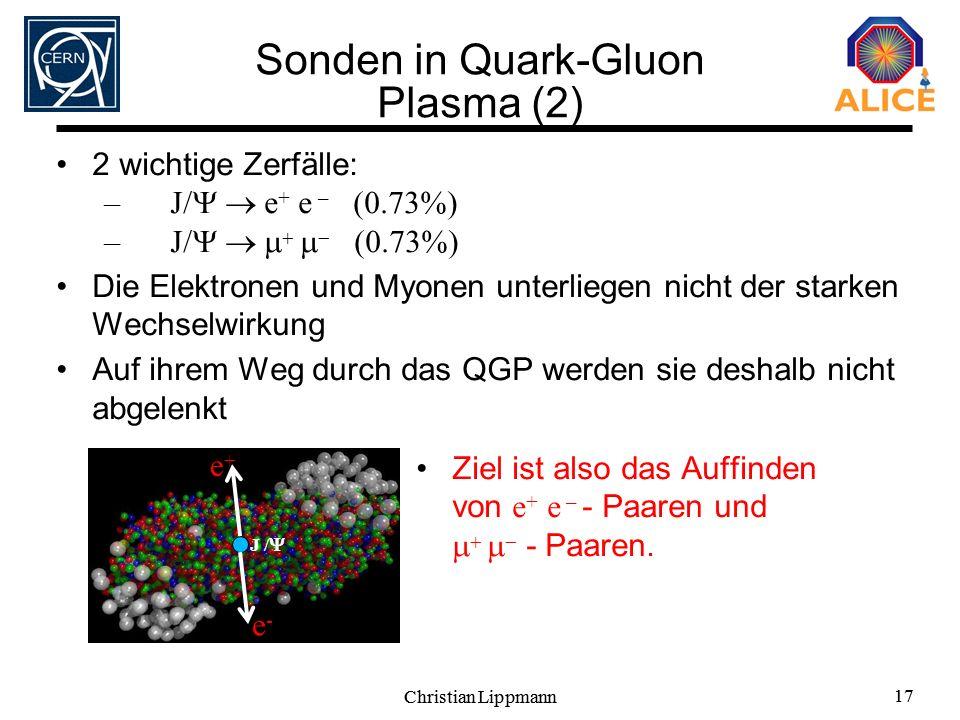 Sonden in Quark-Gluon Plasma (2)