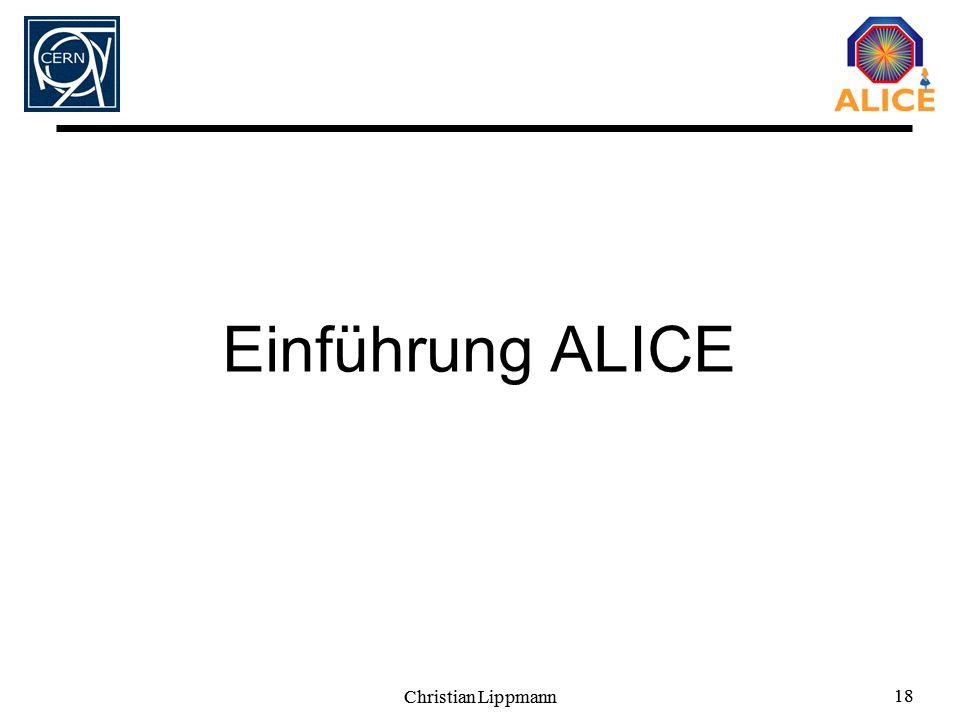 Einführung ALICE