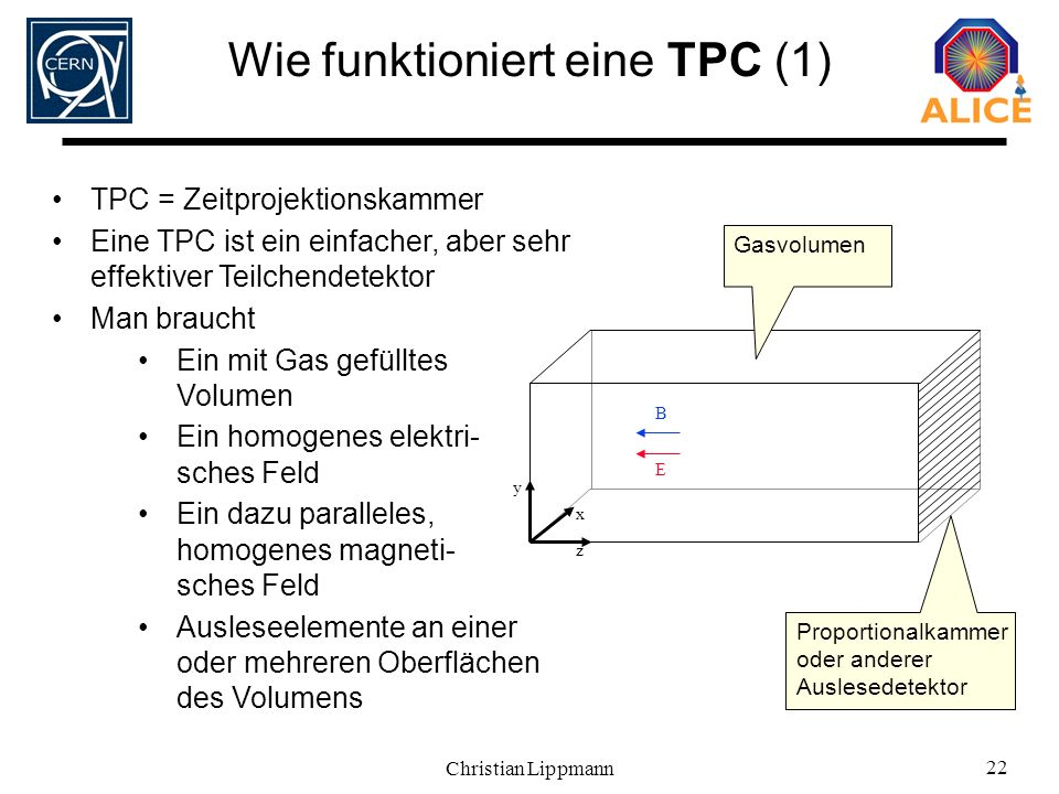 Wie funktioniert eine TPC (1)