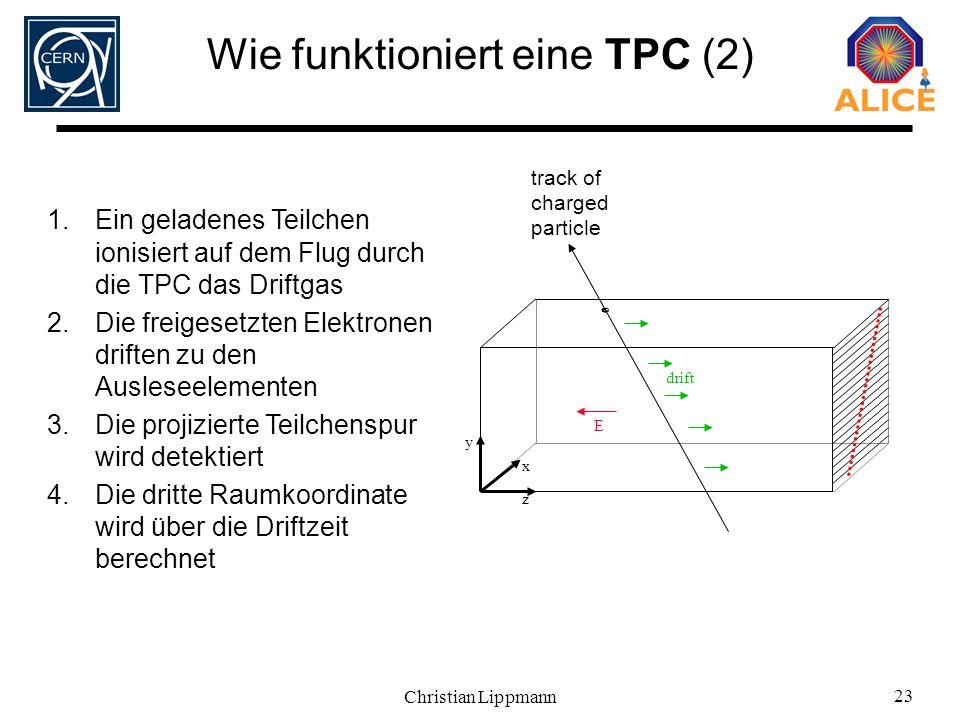 Wie funktioniert eine TPC (2)