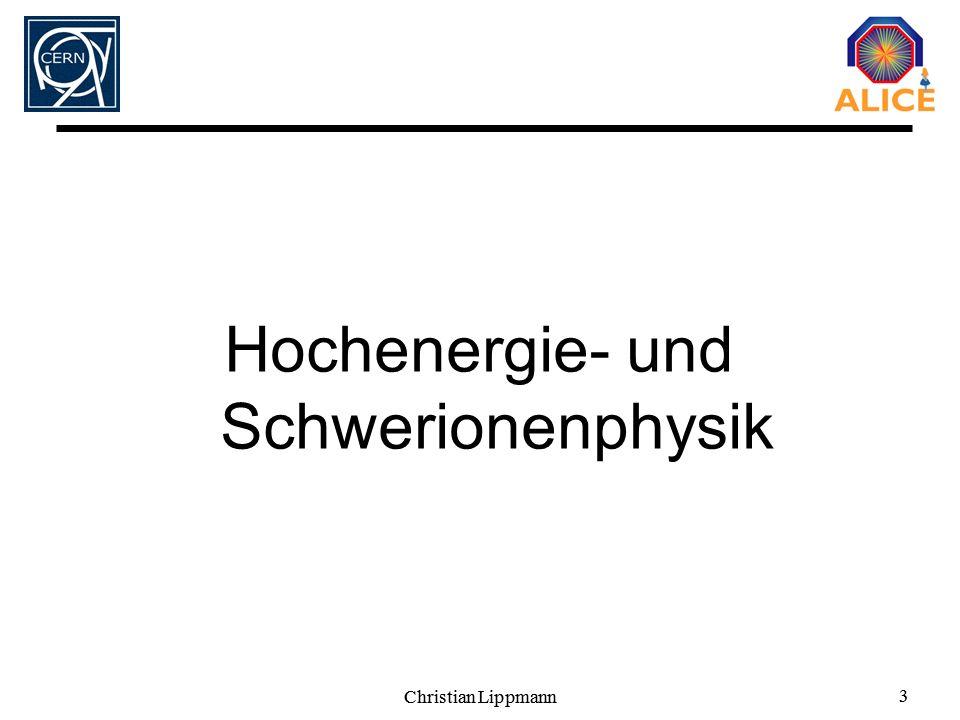 Hochenergie- und Schwerionenphysik