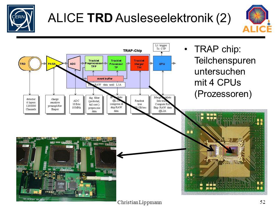 ALICE TRD Ausleseelektronik (2)