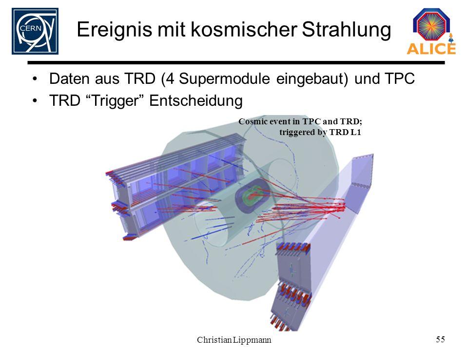 Ereignis mit kosmischer Strahlung