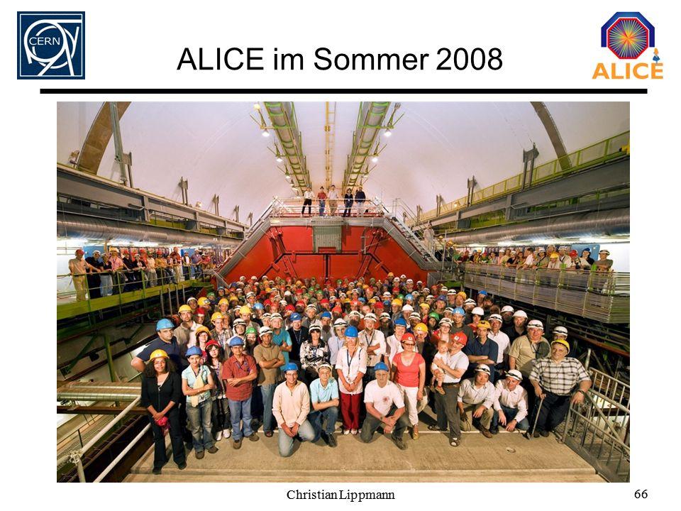 ALICE im Sommer 2008