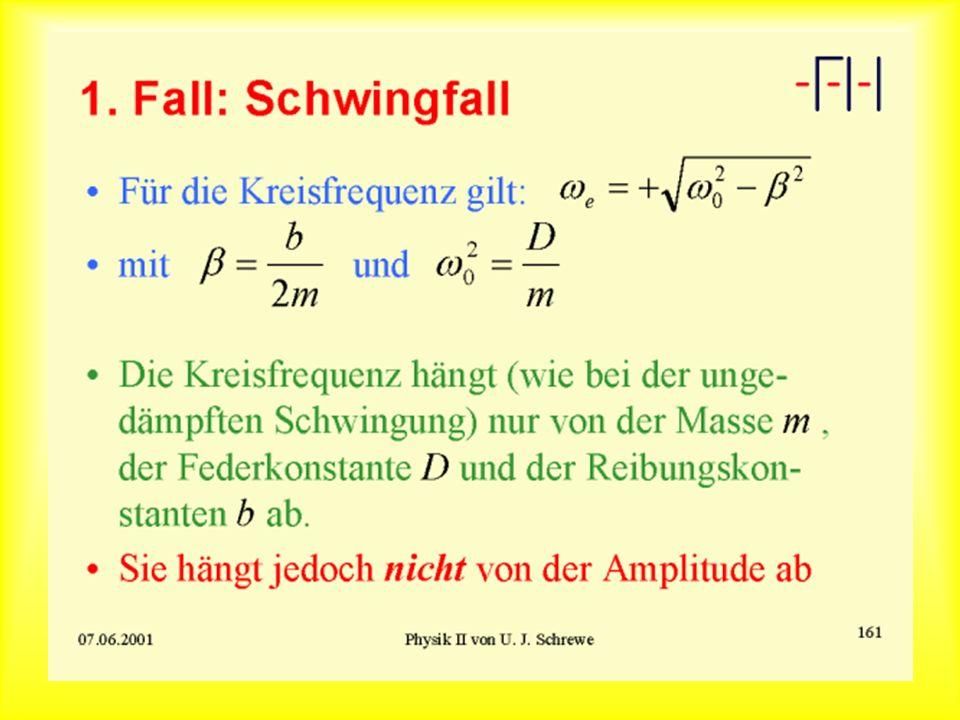 1. Fall: Schwingfall