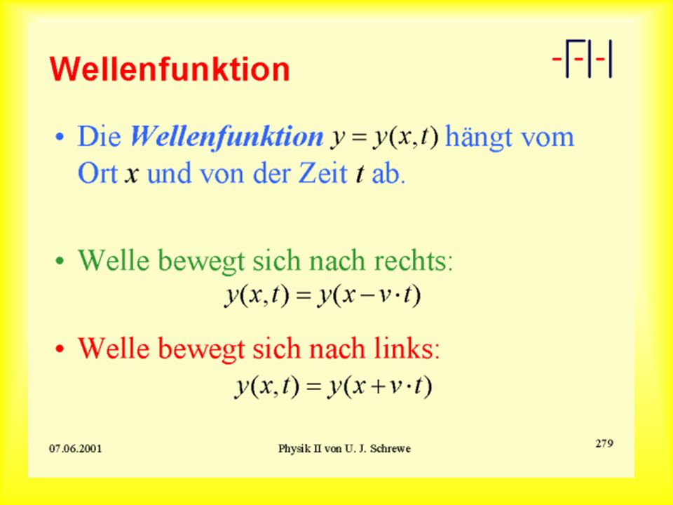 Wellenfunktion