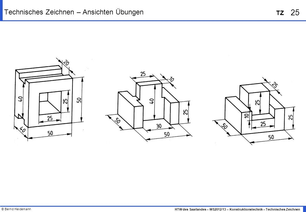 technisches zeichnen dreitafelprojektion autos post. Black Bedroom Furniture Sets. Home Design Ideas