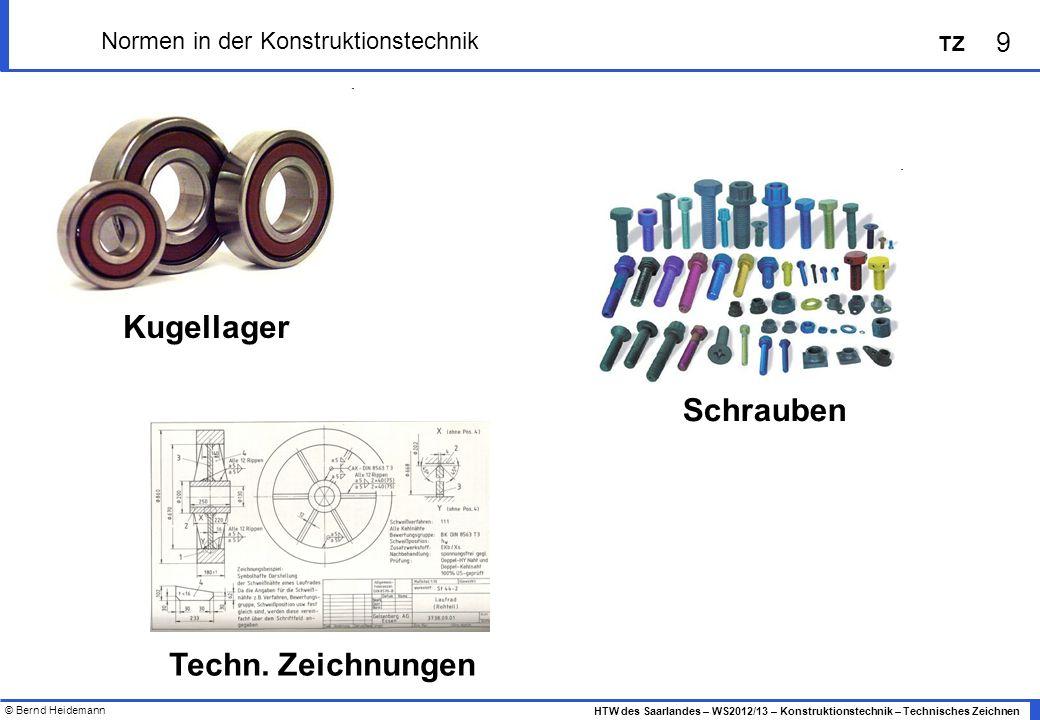 Normen in der Konstruktionstechnik