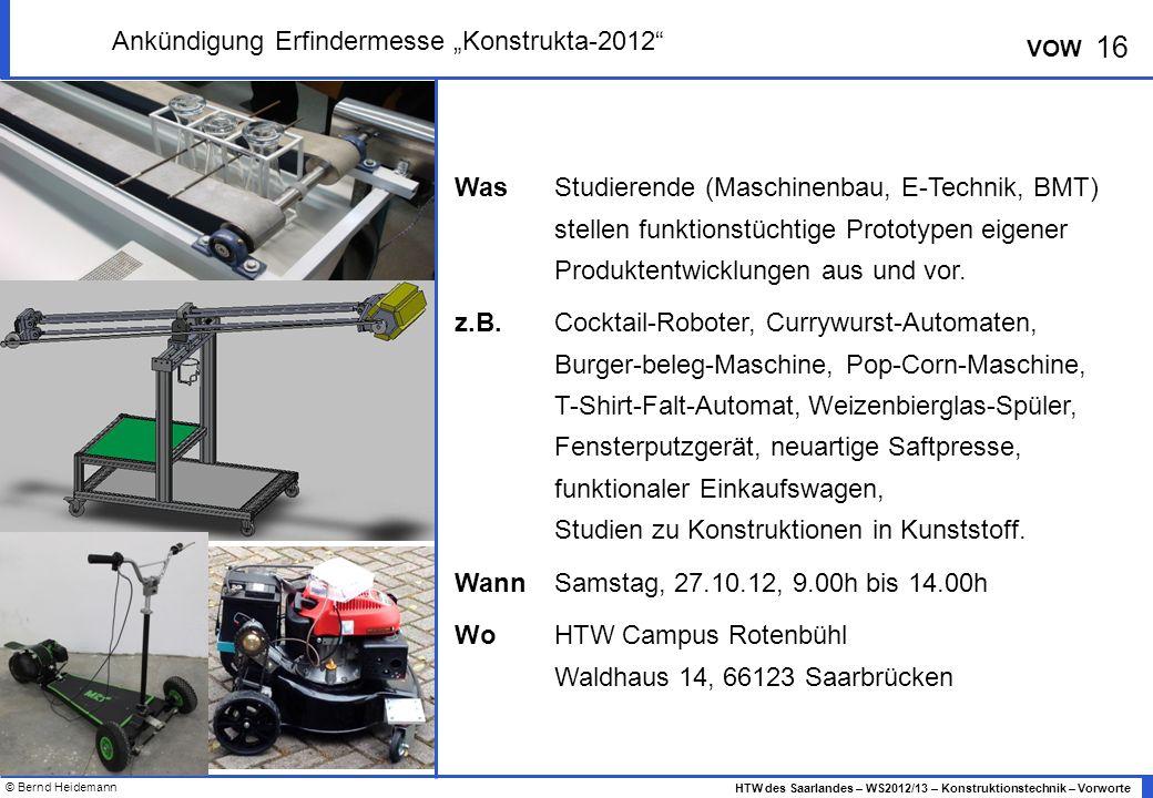 "Ankündigung Erfindermesse ""Konstrukta-2012"