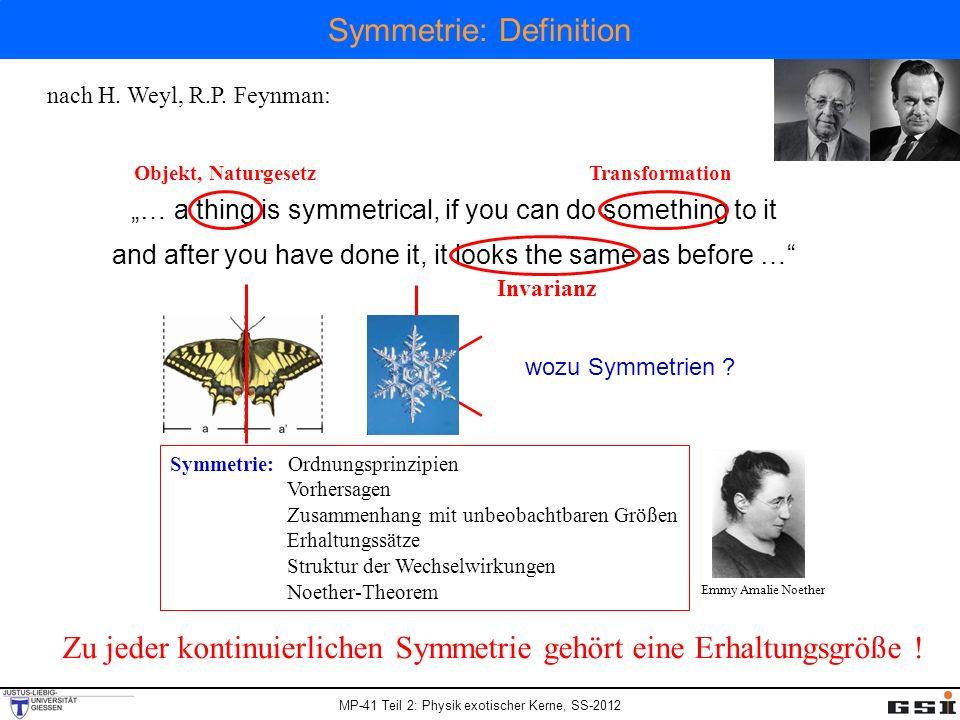 Symmetrie: Definition