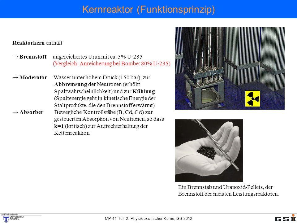 Kernreaktor (Funktionsprinzip)