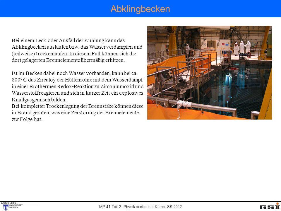 Abklingbecken
