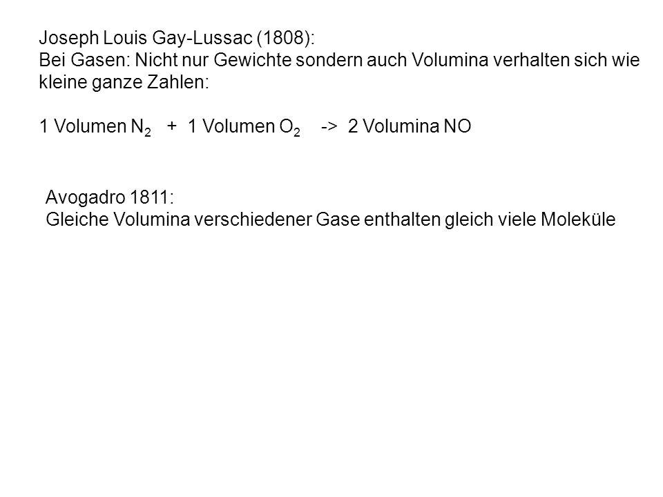 Joseph Louis Gay-Lussac (1808):