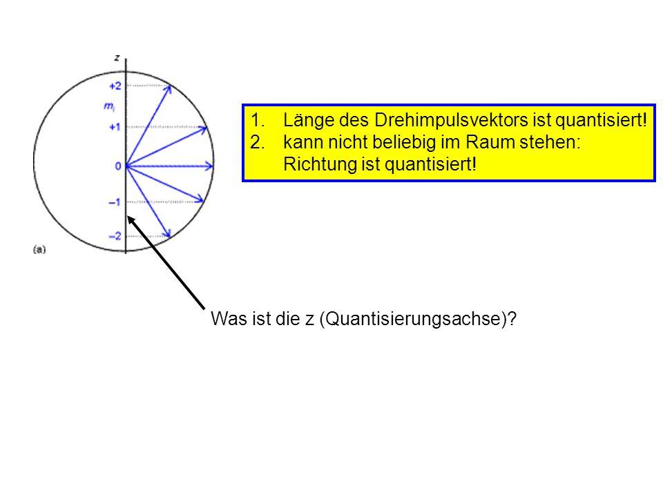 Was ist die z (Quantisierungsachse)
