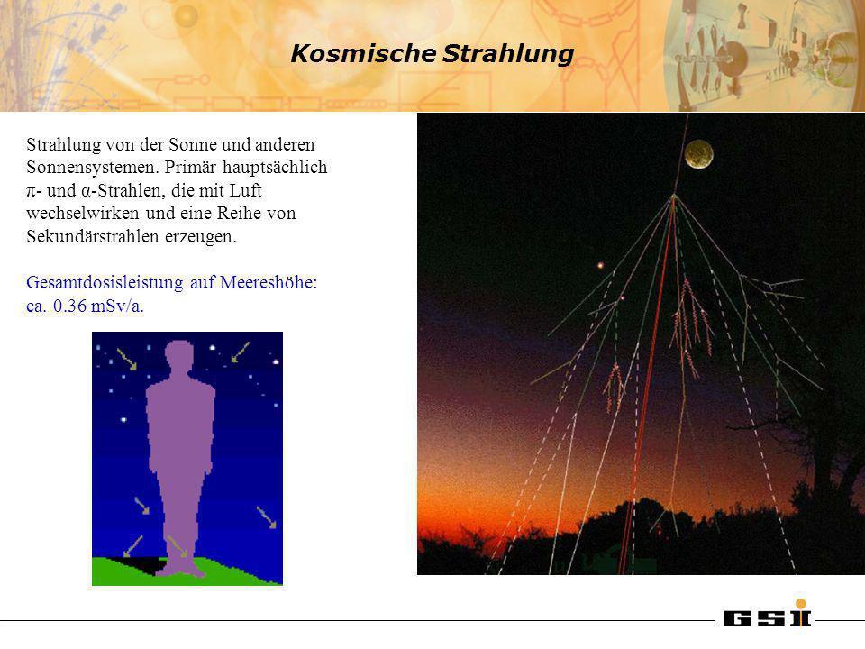 Kosmische Strahlung
