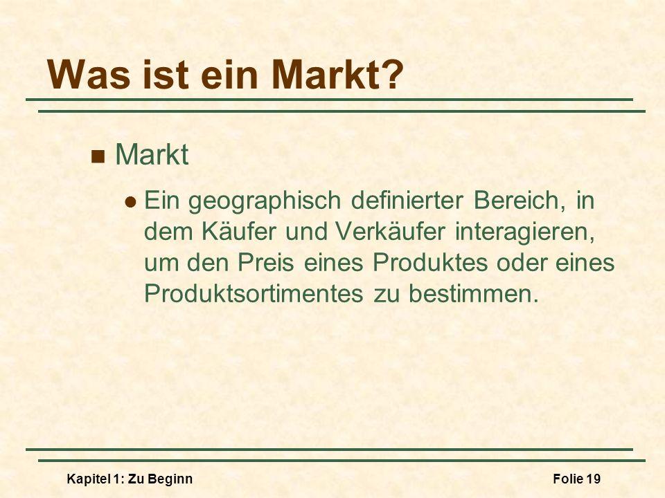 Was ist ein Markt Markt.