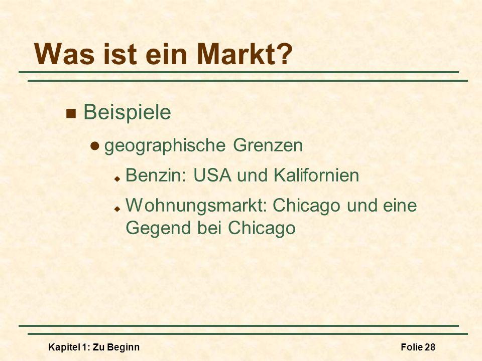 Was ist ein Markt Beispiele geographische Grenzen